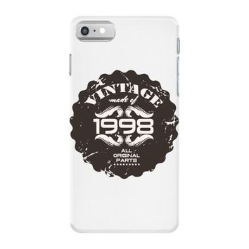 vintage made of 1998 all original parts iPhone 7 Case