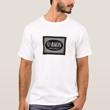 QANON WWG1WGA MEN'S BLACK & WHITE TRUMP SHIRT