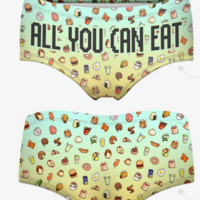 All You Can Eat Panties