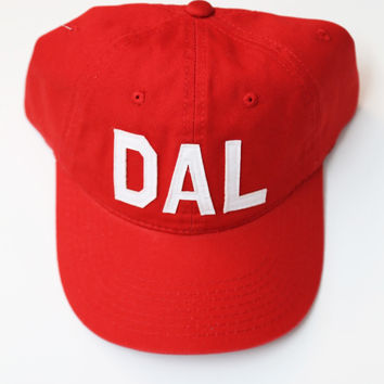 Aviate Ball Cap DAL {Red}