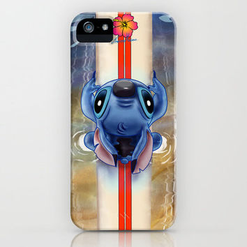 Waiting for the perfect wave...Stitch..^^ iPhone Case by Emiliano Morciano (Ateyo) | Society6
