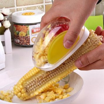 Hot New Useful Corn Stripper cutter Corn shaver Peeler Cooking tools Kitchen Cob Remover