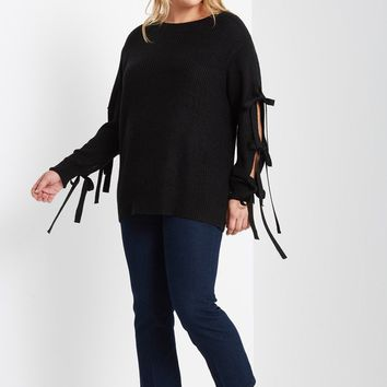 Lauren Knitted Pullover Sweater Plus Size