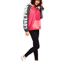 Quarter-Zip Anorak - PINK - Victoria's Secret