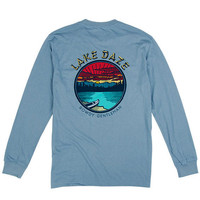 Rowdy Gentleman Lake Daze Long Sleeve Tee