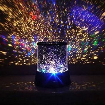 Lightahead® LED Galaxy Star decorative Light with different lighting patterns .(Rotating Version)