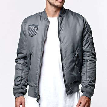 a395801010c Been Trill Bomber Patch Jacket - Mens from PacSun