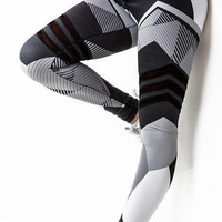 Geometric 3D Print Women Fitness Leggings