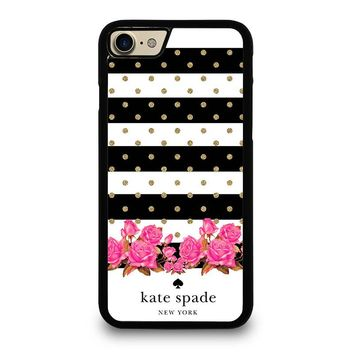 KATE SPADE NEW YORK FLORAL POLKADOTS iPhone 7 Case Cover