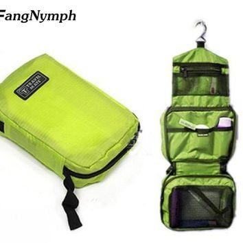 Portable Unisex trip hang washing bags cosmetic bags toiletry bags