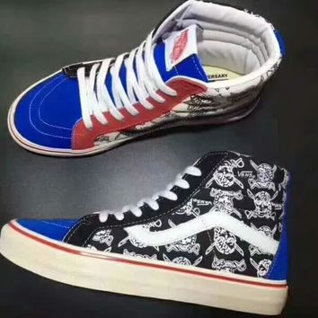 Vans Sk8-Hi 50th Ankle Boots Old Skool Canvas Flat Sneakers Sport Shoes G-CSXY-3