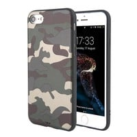 iPhone 8/8 Plus Camouflage Soft TPU Phone Case - 2 Colors