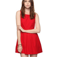Cutout Swing Dress | FOREVER21 - 2011408518