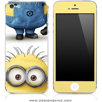 New Despicable ME Flipped iPhone 4/4s or 5, iPod Touch 4th or 5th Gen, Galaxy S2 or S3 Skin FREE SHIPPING