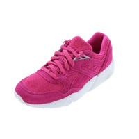 Puma Mens R698 Mesh Evolution Suede Signature Running, Cross Training Shoes