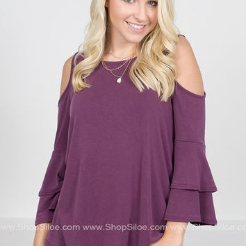 Purple Power Belle Top