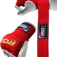 RDX Inner Hand Wraps Gloves Boxing Red