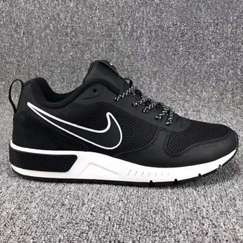 """NIKE"" Fashion Women/man Running Sport Casual Shoes Sneakers Black G-CSXY"