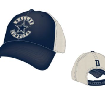 Men's Dallas Cowboys Santorini Adjustable Trucker Hat