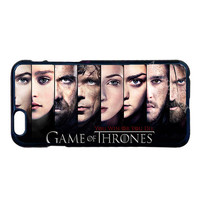 Game of Throne Characters Case for LG iPhone 4 4S 5 5S 5C 6 6S 7 Plus iPod 5 Samsung Note 3 4 5 S3 S4 S5 Mini S6 S7 Edge Plus