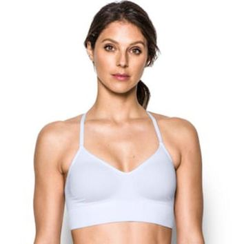 ESBPL3 Under Armour Bras: Seamless Solid Low-Impact Sports Bra 1275923 | null