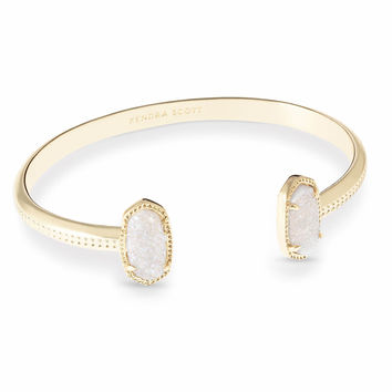 Elton Drusy Pinch Cuff Bracelet in Gold | Kendra Scott