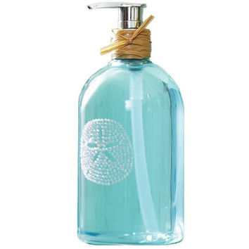 """Two's Company Coral Reef """"Freshwater Scent"""" Hand Soap (Sand Dollar)"""