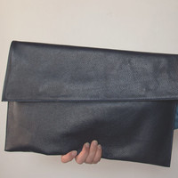 Women Leather Clutch, Large Leather Clutch, Clutch Purse, Envelope Clutch, Leather Bag,  Everyday Bag, Soft Leather Bag, Causal
