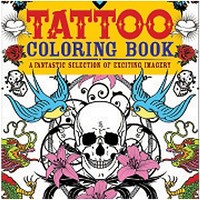 Tattoo Coloring Book - Spencer's