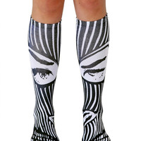 Badwood Bomber Knee High Socks