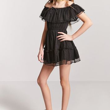 Girls Off-the-Shoulder Dress (Kids)