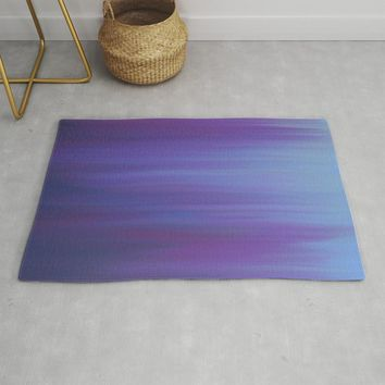Violet Chromatic Rug by duckyb