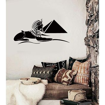 Wall Sticker Pyramid Sphinx Egypt Africa Cool Decor for Your Place Unique Gift z1424