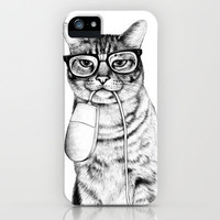 Mac Cat iPhone & iPod Case | Print Shop