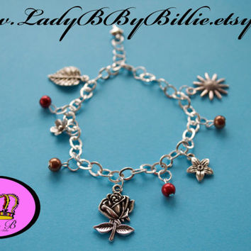 Hippie Chic Handmade Lady B By Billie Charm Bracelet