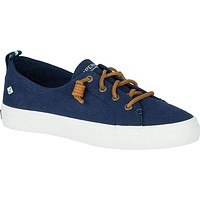Women's Crest Vibe Sneaker in Navy by Sperry