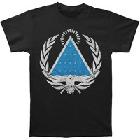 Animals As Leaders Men's  Crest T-shirt Black Rockabilia