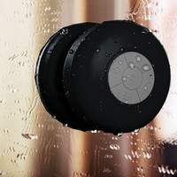 Portable Wireless Waterproof Suction Shower Mini Bluetooth Mic Speaker