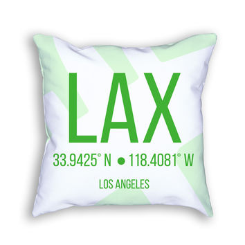 LAX Airport Pillow