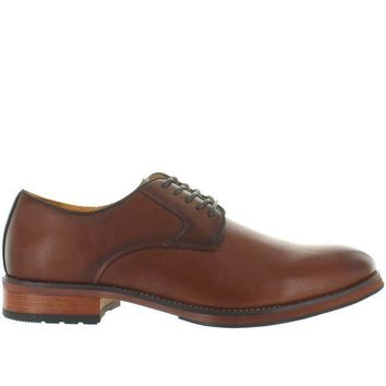 CREYONIG Florsheim Blaze Plain Ox - Cognac Leather Plain Toe Oxford