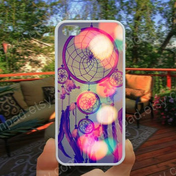 Feather dream catcher Colorful  iphone 4/4s case iphone 5/5s/5c case samsung galaxy s3/s4 case galaxy S5 case Waterproof gift case 473