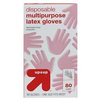 Multi Purpose Gloves One Size - 40 pair/ 80 pack Latex - up & up™