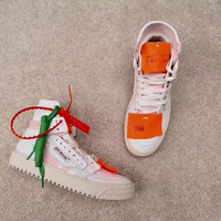 OFF-WHITE C/O VIRGIL ABLOH 18SS Low 3.0 White&Orange