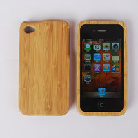 $39.99 Bamboo FREE SHIPPING  iPhone 4 Wood Case  Wooden Case by Heana