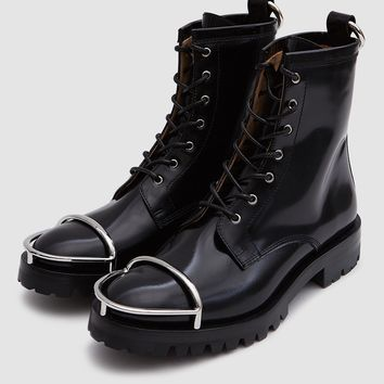 Alexander Wang / Lyndon Box Calf Combat Boot