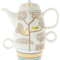 Tree Time Tea Set in Playful Partners | Mod Retro Vintage Kitchen | ModCloth.com