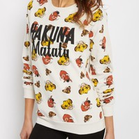 Lion King Crew Neck Sweatshirt | Sweatshirts | rue21