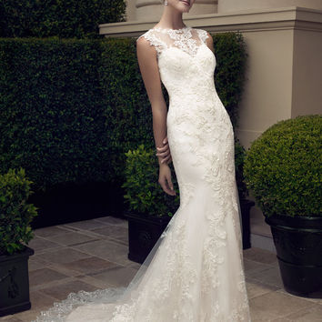 Casablanca Bridal 2198 Sample Sale Wedding Dress