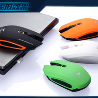 1pcs Cool LeeJ Wireless Optical Computer Game Mouse Mice 6Keys USB Receiver 2.4G or Gamer