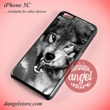 Angry Wolf Phone case for iPhone 5C and another iPhone devices